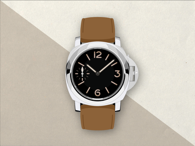 Panerai Luminor illustration watch print panerai classic