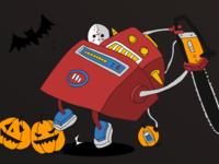 Microstrategy Hackatron - Halloween