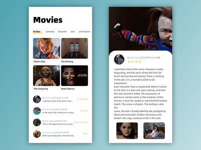 Mobile Movies App