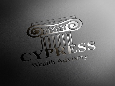 CYPRESS logo vector logotype illustration design branding alexandra miracle classic cypress