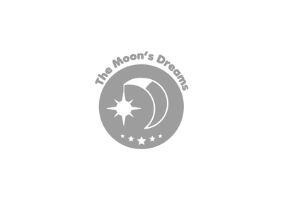 Sticker. Lable for the candle night dream house home candle moon illustration logotype logo alexandra miracle branding