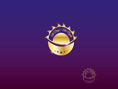 All days All nights logo vector design illustration alexandra miracle branding fairyt fairy
