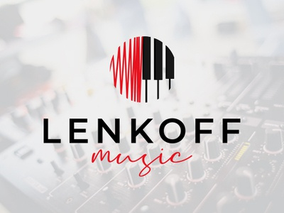 "Logo Design for Music Company ""LENKOFF MUSIC"""