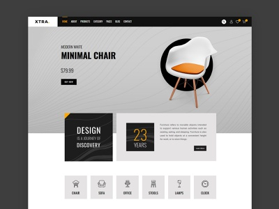 Furniture & Home decor WordPress theme woocommerce shopify wordpress theme interface landingpage web design webdesign shop business creative modern clean wordpress design web theme ux ui