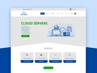 Hosting & Cloud Server Homepage