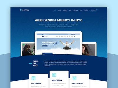 Web Agency WordPress Theme business typography freelancer web agency webdesign web creative design clean wordpress theme ux ui
