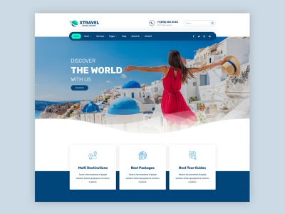 Travel Agency WordPress Theme tourism tour vacation travel agency travel business wordpress modern creative clean web design theme ux ui