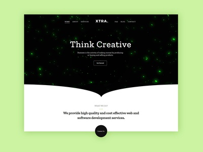 Creative Business WordPress Theme