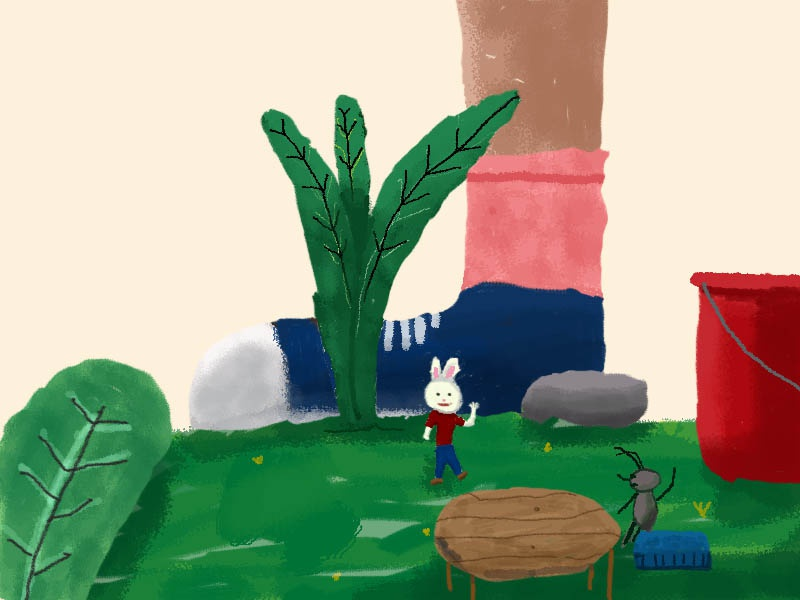 Mini flower cute animal animal  pet animal art hedgehog design portrait art children books children book illustration children book children art cartoon illustration