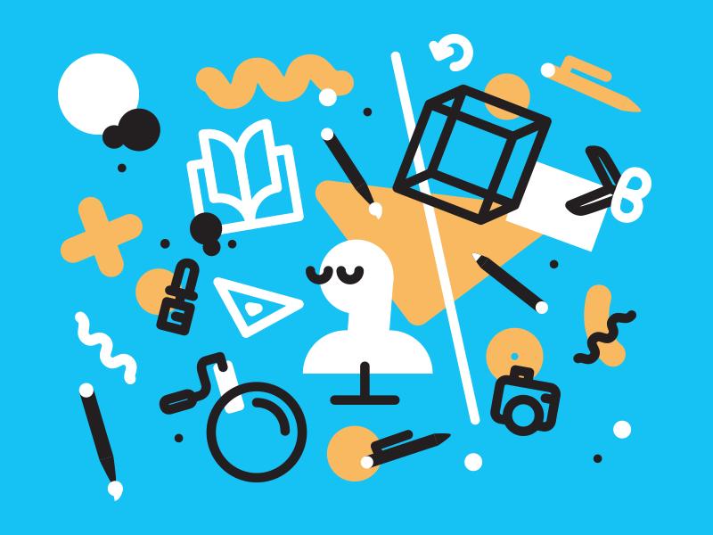 AMI Előkészítő Tanfolyam art drawing designing sculpting icons illustration