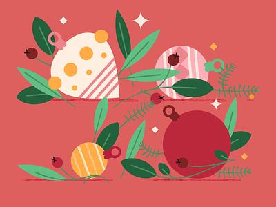 Xmas vibes holidays christmas vector illustration