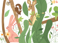 Wallpaper for a kiddie room