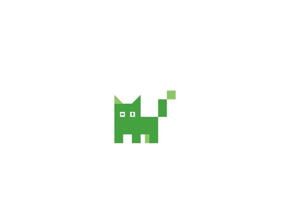 Cat Pixel logocompany logos kitty pixel logo pixels pixelart pixel animal logo cat logo cat cats logosai animal logoconcept logoinspire logoinspiration logoidea logoforsale logodesign logo