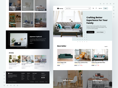 Shop Bag | Online Shop UI Kit uiux website app design simple ui ios iphone x app clean ui ux ux ui