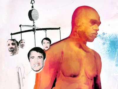 UFC jon jones mma by danny allison illustration