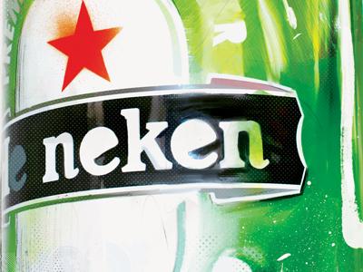 Heiniken Bottle by Danny Allison