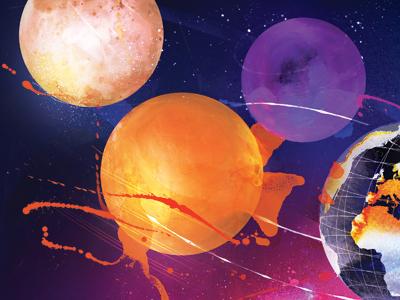 Danny Allison Space Illustration