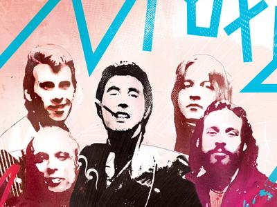 Danny Allison Illustration Roxy Music