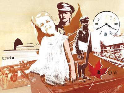 Vintage war illustration by danny allison illustration