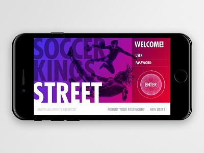 Soccer Kings Street design product ios iphone futbol soccer ux ui game app