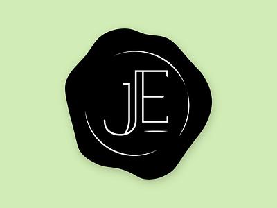 Lawyer Stamp Logo   JE logo design stamp design ink stamp lawyer logo stamp stamp logo wax stamp initials logo logo deisgn logo graphic design branding consultant