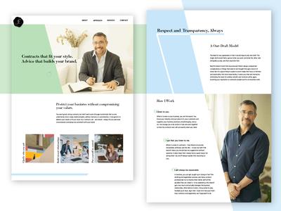 Legal Consultant Site Design