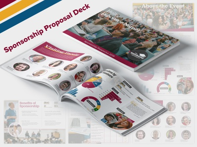 Edu. Organization Sponsorship Deck tedx education prospectus charts information design demographics graphic design print design proposal pdf slidedeck sponsorship