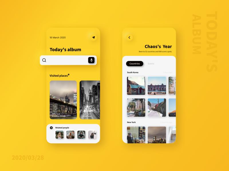 Life album - Mobile App