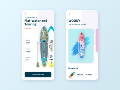 Surfboard  Mobile App