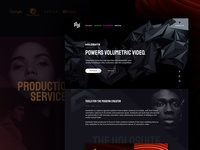 Intro to Arcturus creator tools volumetric texture typography logo design madewithxd icon ux logo ui branding web design