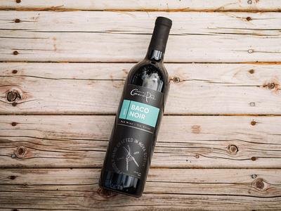 Grand Pré Baco Noir Wine Label