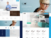 Insight Optometry & Spot Eyewear Web Design