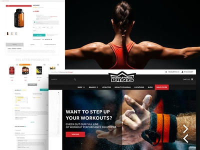 Supplement King Online Store