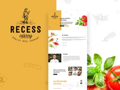 Recess Catering - Website