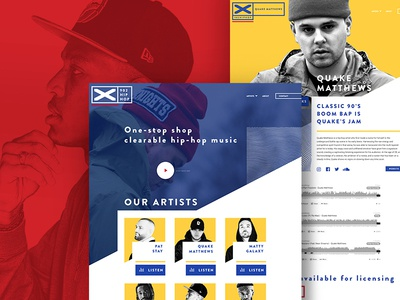 902 Hip Hop - Website