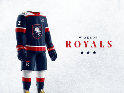 Windsor Royals Hockey Club - Branding & Uniforms