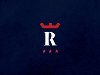 Windsor Royals Hockey Club - Pants & Helmet Logo r w crown ice hockey uniforms jerseys hockey logo logo design branding