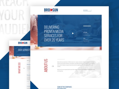 BroSun Media Consultants Website