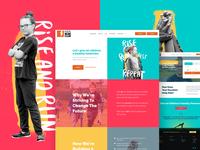 Kids Run Club - Brand update & website