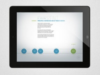 Timber iPad App - Work Experience Page