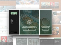 Upstreet BBQ Brewhouse - Website Design madewithxd bbq craft beer beer wordpress theme wordpress web ux ui web design branding
