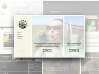 East Coast Craft Soda - Web Design