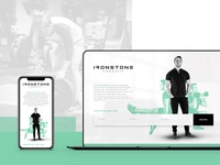 Ironstone Crossfit - Landing Page Design