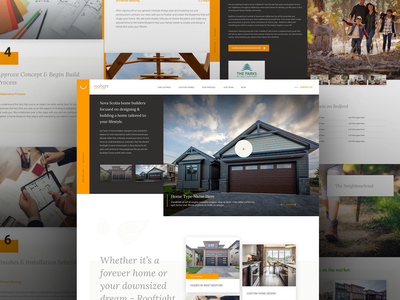 Rooftight - Web Design branding typography web madewithxd ux ui web design
