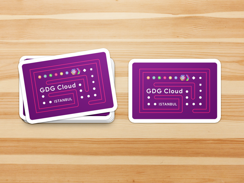 GDG Cloud Istanbul vector design developer google gdg istanbul cloud sticker logo
