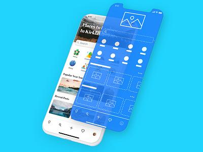 Hello Dribbble! user interface design user interface appdesign first shot hello dribbble app ux ui design