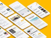 Multi Resource Mobile Web Design