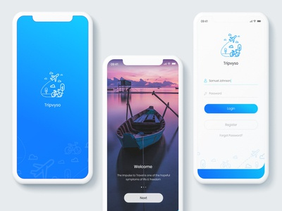 Tripvyso Travel App