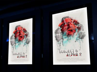 Subject 6 Alpha 2 Poster (Mockup)