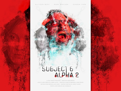 Subject 6 Alpha 2 Poster